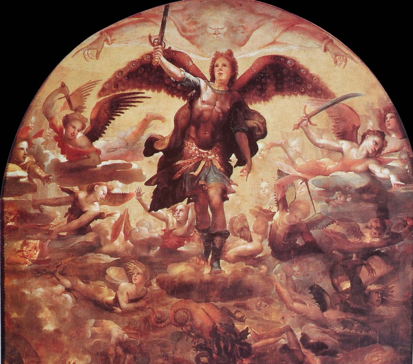 Domenico Beccafumi_ca.1524_Saint Michael Driving out the Rebellious Angels_detail(1).JPG