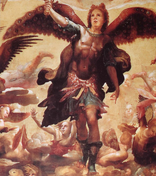 Domenico Beccafumi_ca.1524_Saint Michael Driving out the Rebellious Angels_detail(3).JPG