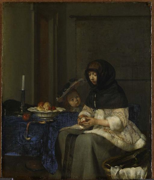 Gerard ter Borch_ca.1660_削蘋果的女人_36.3x30.7cm..jpg