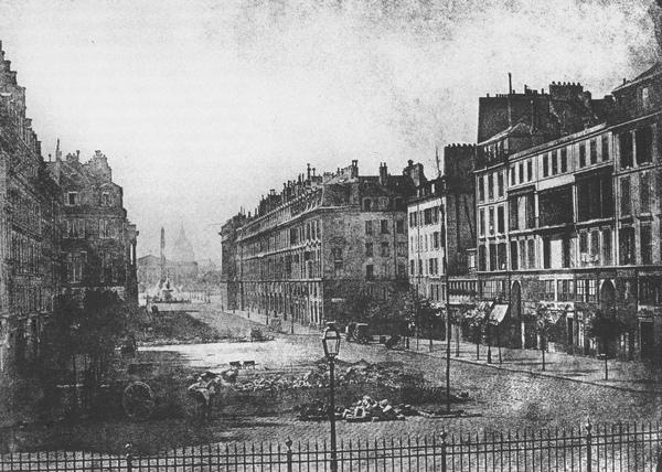 1848年,巴黎,皇室大道街景.JPG