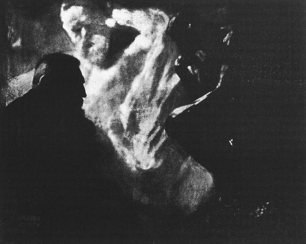 1905年,羅丹與他的作品沈思者.JPG