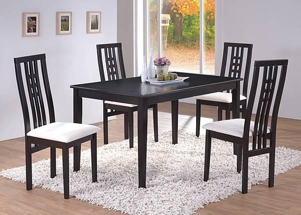 古典風格實木餐桌椅組,質感佳價格漂亮