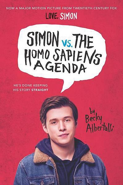 Simon v.s. the Homo Sapiens Agenda (Movie Tie-in)