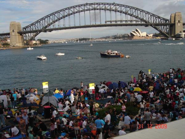 2010雪梨跨年煙火1