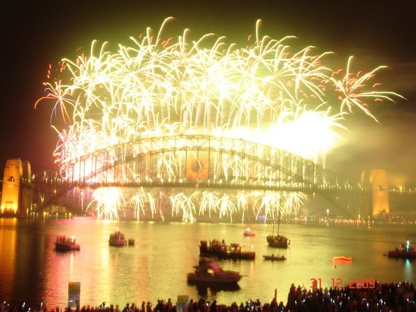 雪梨跨年煙火2