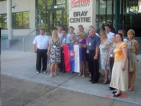 Visit to Griffith University