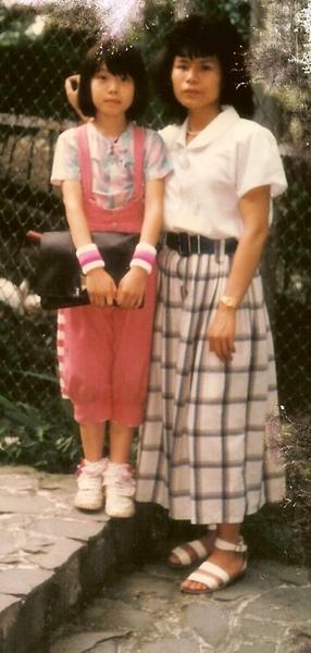 1985鹿谷鳳凰鳥園跟媽咪.jpg