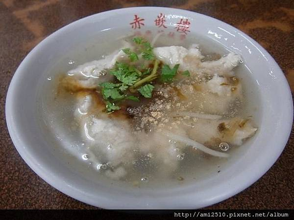 【食】台南市《赤崁樓~浮水花枝羹專賣店》