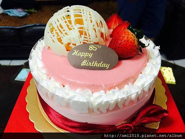 85度C生日蛋糕~秘密花園