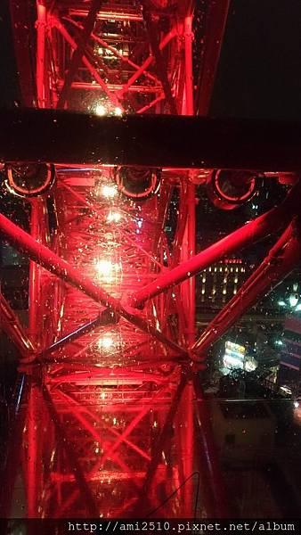【遊】日本大阪《HEP FIVE摩天輪》◆201707