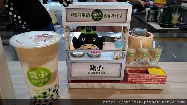 【喝】嘉義文化路夜市《龍承 綠豆沙牛奶》201910142520