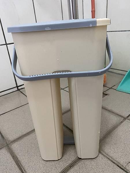 【敗】我的平板拖生活《韓國SINEW三代精巧桶.免沾手好刮刮樂平板拖把》20200229