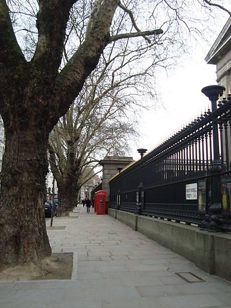大英博物館圍牆