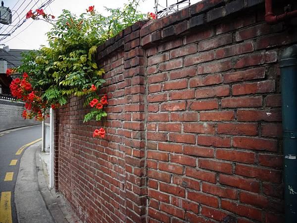 好有fu的紅磚牆