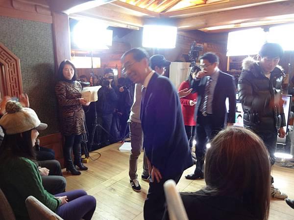 首爾市朴元淳市長來了