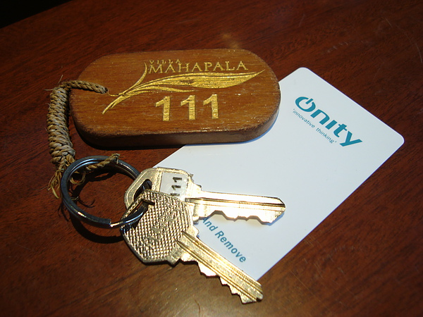 房卡與鑰匙