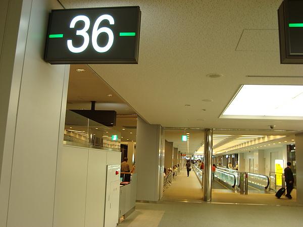 36號登機口