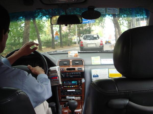 首爾計程車初體驗