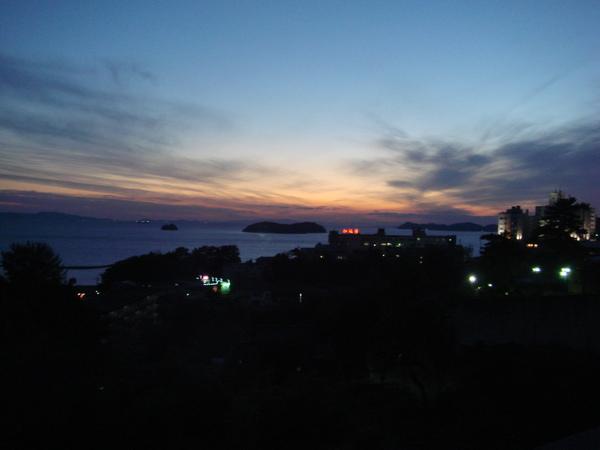 平野屋的夜景