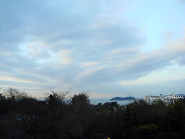 早上的三河灣景色