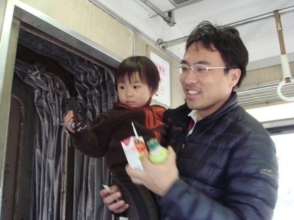 北川爸爸跟弟弟