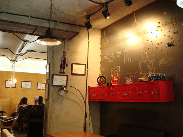咖啡王子一號店內