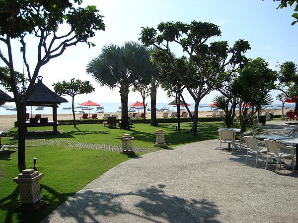 還有私人海灘