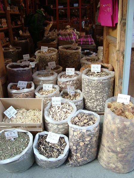 乾燥菇類販賣店