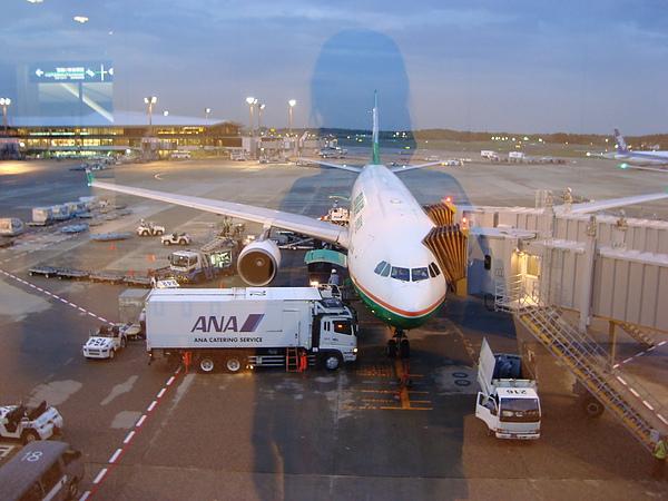 在成田機場