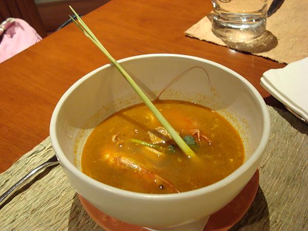 晚餐-酸辣(鹹)海鮮湯