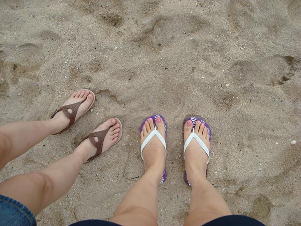 Sanur沙灘留印
