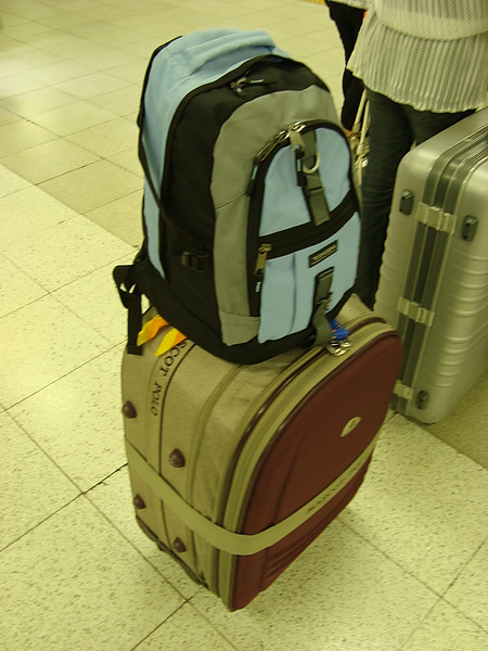 超重的行李XD