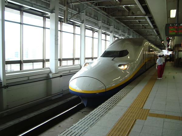 新幹線來了