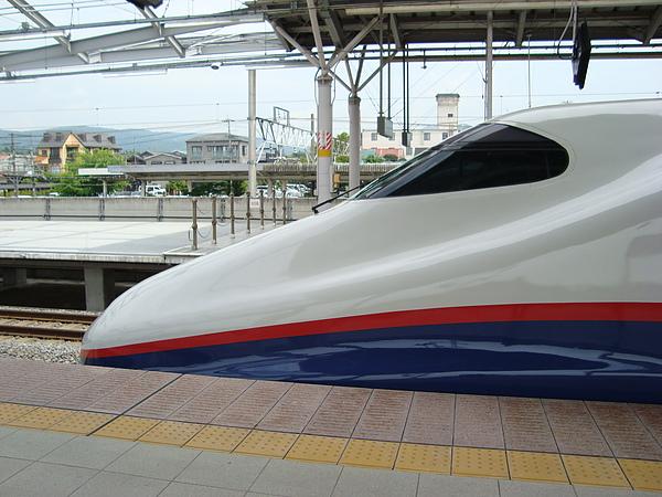 新幹線初體驗