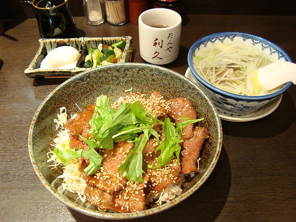 牛たん丼定食