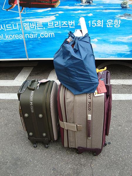 爆炸的行李箱XD