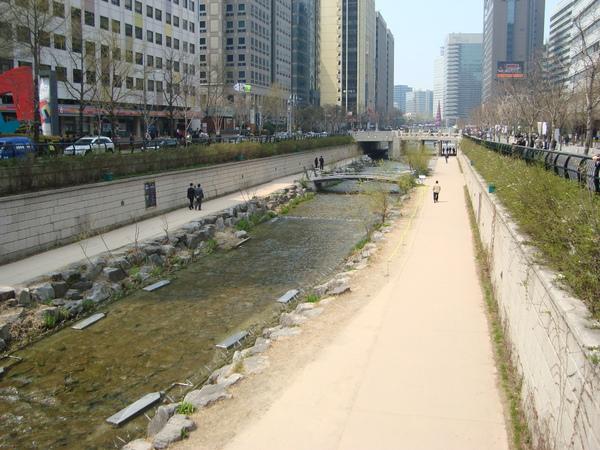 春天的清溪川