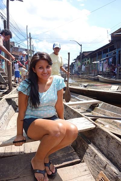 [4/25 Iquitos]our guide -Carolina