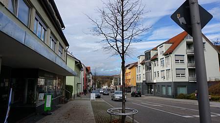 Wernau小鎮的主街