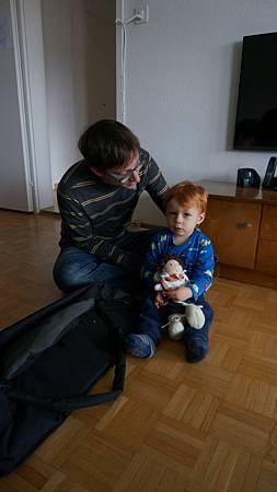 [12/22 Zurich 蘇黎世]Jonas與Mathias叔叔