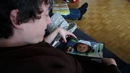 [12/22 Zurich 蘇黎世] 禮物是可愛的jonas月曆