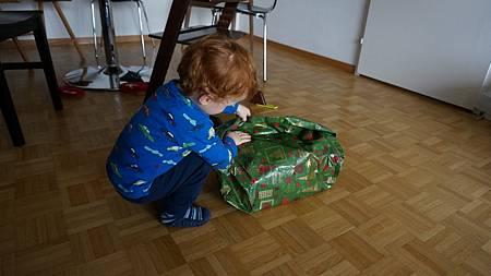 [12/22 Zurich 蘇黎世]拆禮物