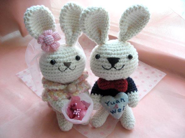 婚禮小兔【已售出】