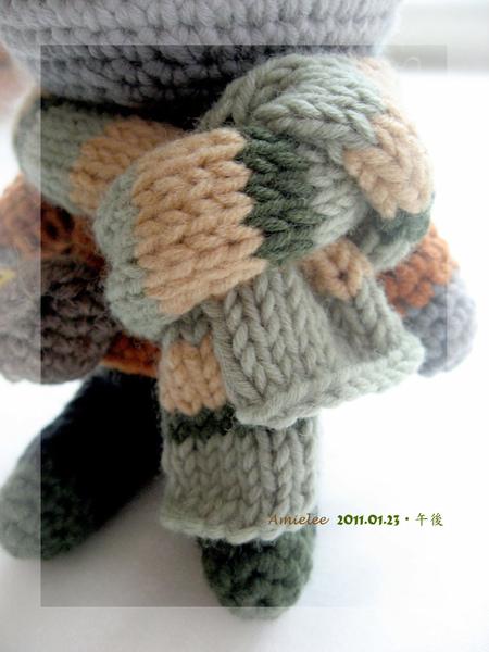 熊拔拔-圍巾