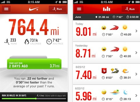 NikePlus-App