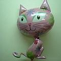 可愛喵氣球