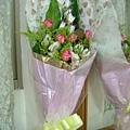 芷儀送的花