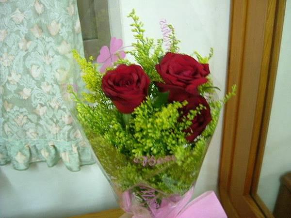 瓜瓜送的花
