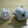 貓頭鷹&河豚( 打光版 )