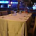 擺好的餐桌